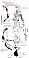 Archer Design Sheet by Koshindou