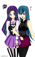 Aria and Sonata by myumlamy