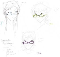 DES: Glasses test by Roodiee
