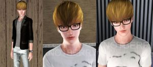 SHINee Key in Sims3 by KnotBerry