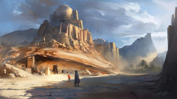 Desert City by ARTek92