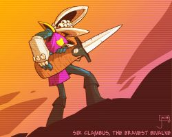 Sir Clambus the Bravest Bivalve by jouste
