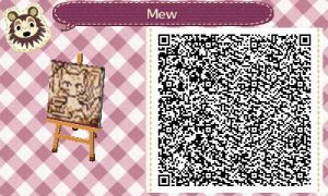 Mew - Animal Crossing by gamefreak413