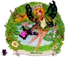 Mercedes in Fairyland by Capolecos