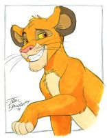 Another Young Simba by tombancroft