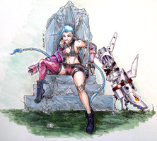 Jinx's Throne by G21MM
