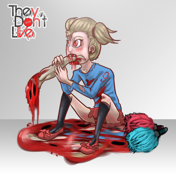 The Dont Live Zombie Girl by Sig17gm
