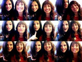 Demi Lovato and Selena Gomez by AmberEditions