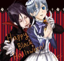 Happy Black Halloween! by Asobou4Ulquiorra