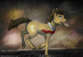 Of Course It'd Start Raining... by MattsyKun