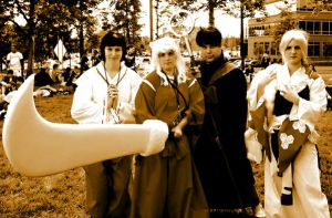Inuyasha Group by Mechpics