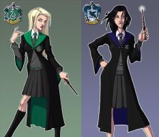 Hogwarts young witches by berkheit
