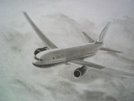 United Airlines Boeing 767 by MurphSwag