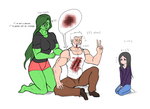 logan and laura by franschesco
