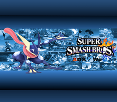 Greninja Wallpaper by CrossoverGamer