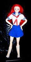 Project A-Ko custom anime doll by TeenTitans4Evr