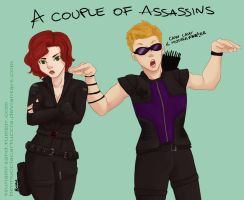 _Couple_Of_Assassins_ by BennucciaCartuccia