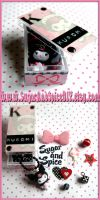 DIY Kuromi Box and Necklace by wickedland