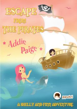 'Escape From The Pirates' ~ Book Cover by zabaroe