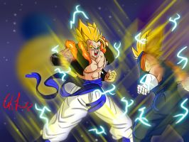 Gogeta Vs Vegetto Ultimate Battle by francesco8657