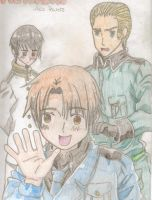 Hetalia: The Axis by ThreeDaysGraceTard