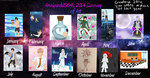 2014 Summary Of Art by AmaiYuzuki564