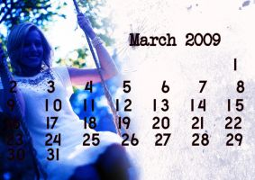 Calendar 2009 - March by WindowsToParadise