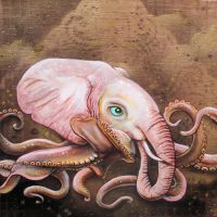 Octophant by bedowynn