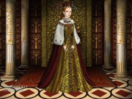 The Tudors: Queen Elizabeth by moonprincess22