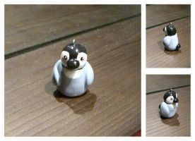 Penguin Chick Charm by hatenaki-yume