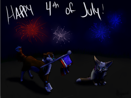 Happy 4th of July! by miyumicat