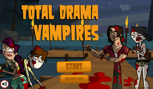 Total Drama Vampires XD by Escope3456