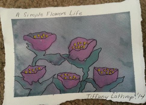 A Simple Flowers Life by Tiffany-Lathrop