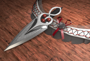 Garter and Dagger by FengL0ng