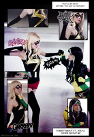 Ms.Marvel vs. Rogue by Rukiii