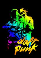 daft punk 1 by ndutbear
