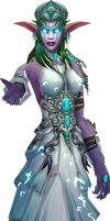 Tyrande Whisperwind by Daerone