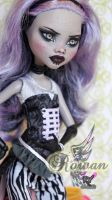 Monster High Freak du Chic Clawdeen Wolf repaint by RogueLively