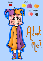 Clown Adoptable [CLOSED] by Neon-Fizz