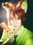 Cosplay Zootopia : Nick and Carrot by r-kira