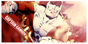 Captain Canuck by Xrift