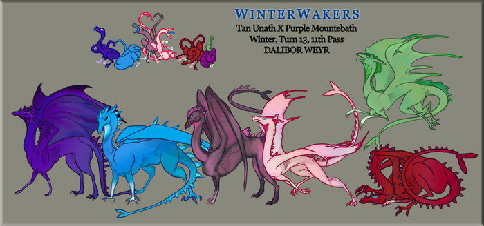 Dalibor Weyr - WINTERWAKERS by Azhdarchid