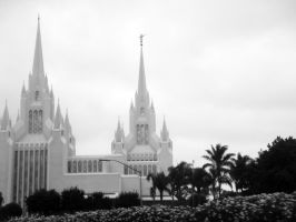 Mormon Temple by LDFranklin