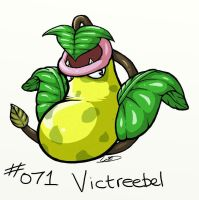 0071 - Victreebel by Electrical-Socket