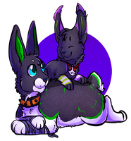 bunny loves by Diogee379