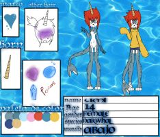 Umi the narwhal .:new Fc:. by Niut-LilJazzy