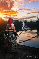 Dragon Nest cosplay: force user by NatsukiJiro