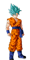 Goku Super Saiyan God Super Saiyan 2 by BardockSonic