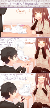Jumin's Proposal ?! by ksmile1313