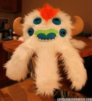 Mohawked Monstroctopus by loveandasandwich